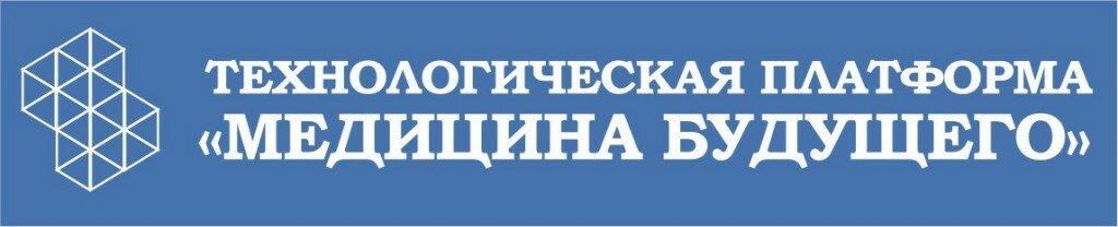 Логотип ТП МБ на синем фоне